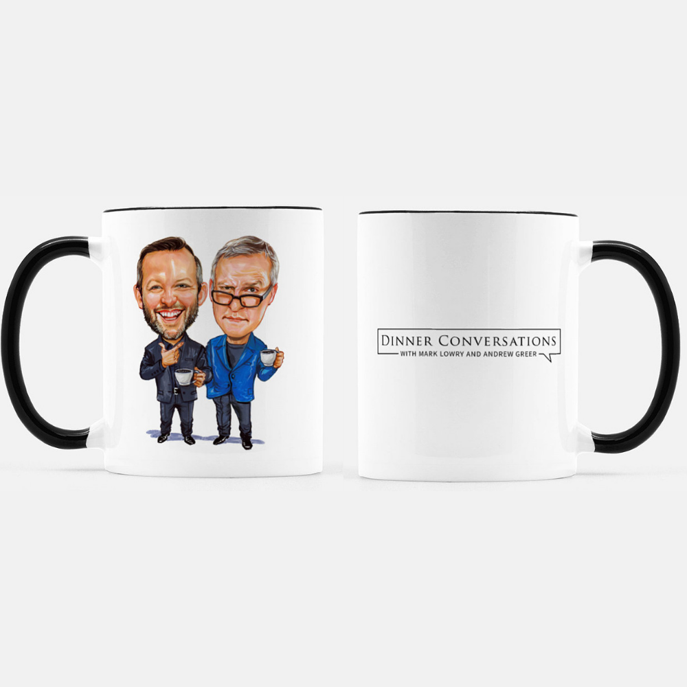 Dinner Conversations Season Two Mug Combo
