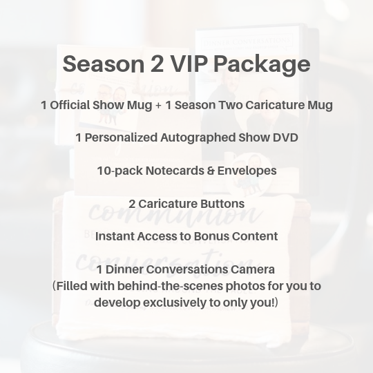 Season Two Exclusive Camera VIP Package | Limited to Only 10!