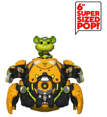"Overwatch - Toxic Wrecking Ball NYCC 2019 US Exclusive 6"" Pop! Vinyl"