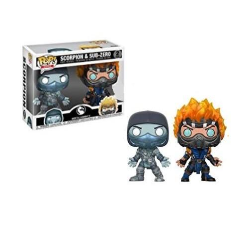 Mortal Kombat - Scorpion & Sub-Zero US Exclusive Pop! Vinyl 2-pack