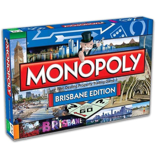 Monopoly Brisbane Edition board game
