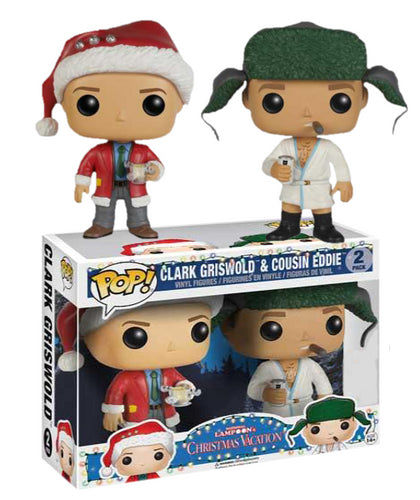 National Lampoon's Christmas Vacation - Clark & Ed US Exclusive Pop! Vinyl 2-Pack