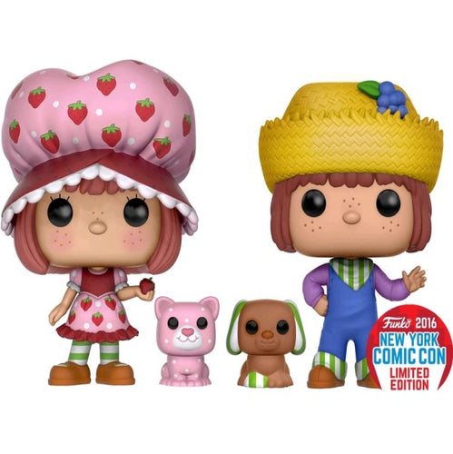 Strawberry Shortcake - SSC & Huckleberry Pie Scented NYCC 2016 US Exclusive Pop! Vinyl 2pk