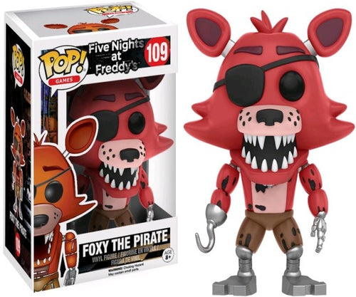Five Nights at Freddy's - Foxy the Pirate Pop! Vinyl