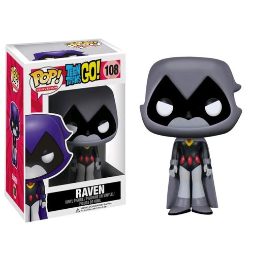 Teen Titans Go! - Raven Grey US Exclusive Pop! Vinyl
