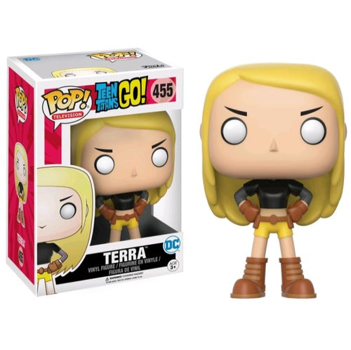 Teen Titans Go! - Terra US Exclusive Pop! Vinyl