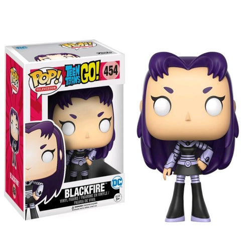 Teen Titans Go! - Blackfire US Exclusive Pop! Vinyl