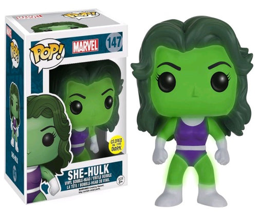 Hulk - She-Hulk Glow US Exclusive Pop! Vinyl