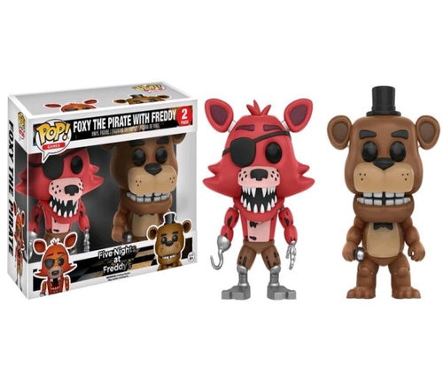 Five Nights at Freddy's - Freddy & Foxy US Exclusive Pop! Vinyl 2-Pack
