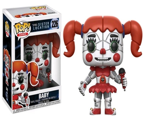 Five Nights at Freddy's: Sister Location - Baby Pop! Vinyl