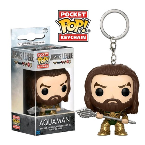 Justice League Movie - Aquaman Pocket Pop! Keychain