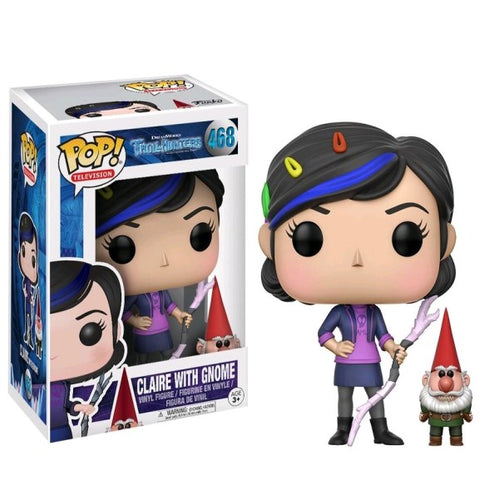 Trollhunters - Claire with Gnome Pop! Vinyl