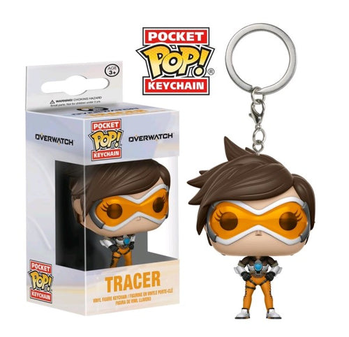 Overwatch - Tracer Pocket Pop! Keychain