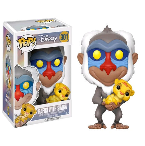 Lion King - Rafiki with Simba Pop! Vinyl