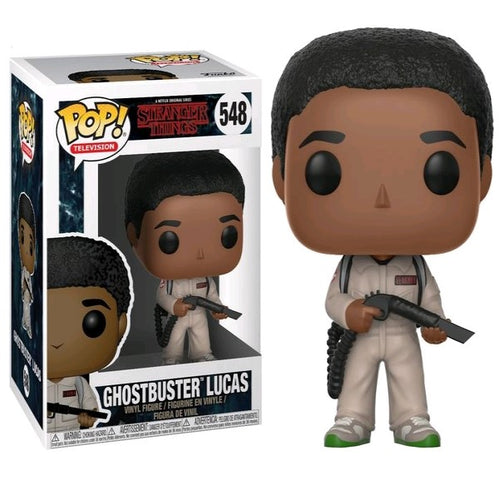 Stranger Things - Lucas Ghostbuster Pop! Vinyl