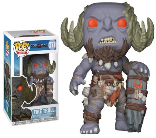 God of War (2018) - Fire Troll Pop! Vinyl