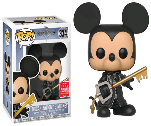 Kingdom Hearts - Mickey Organisation 13 Unhooded SDCC 2018 US Exclusive Pop! Vinyl