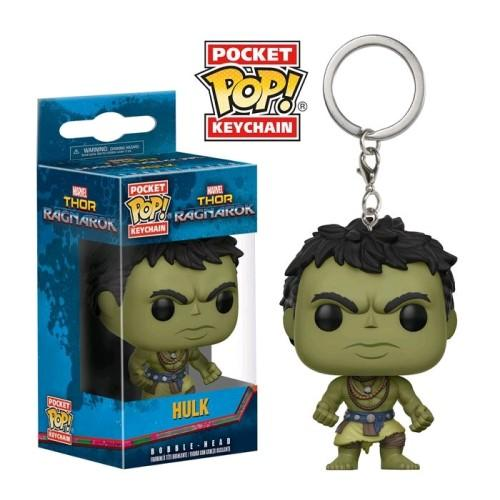 Thor 3: Ragnarok - Hulk Casual Pocket Pop! Keychain