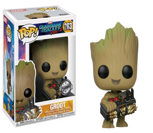 Guardians of the Galaxy: Vol. 2 - Groot with Bomb US Exclusive Pop! Vinyl