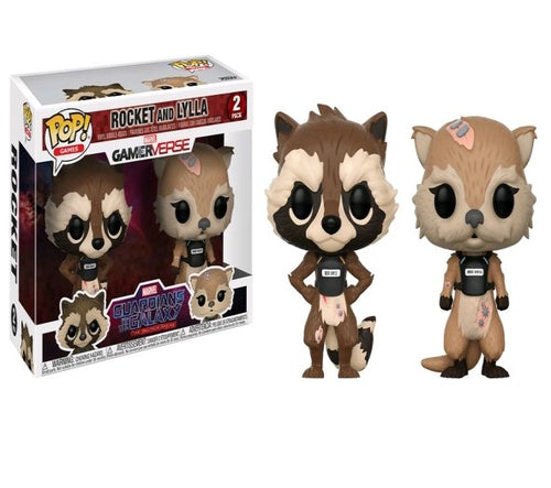 Guardians of the Galaxy: The Telltale Series - Rocket and Lylla Pop! Vinyl 2-pack