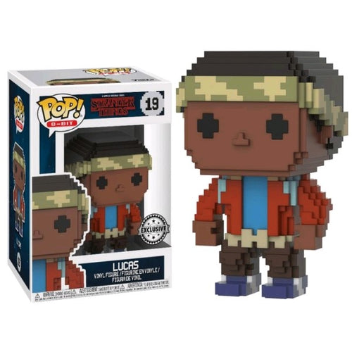 Stranger Things - Lucas 8-Bit US Exclusive Pop! Vinyl