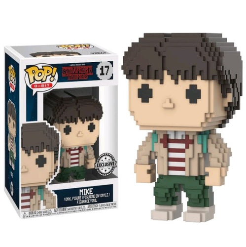 Stranger Things - Mike 8-Bit US Exclusive Pop! Vinyl