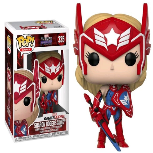 Future Fight - Sharon Rogers as Captain America Pop!
