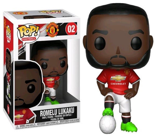 English Premier League: Manchester United - Romelu Lukaku Pop! Vinyl