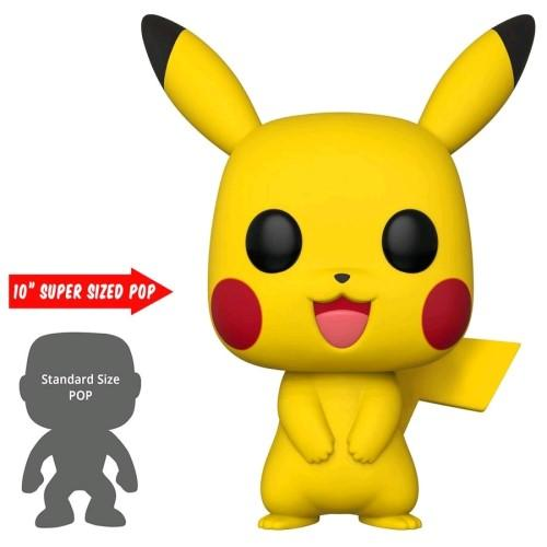 "Pokemon - Pikachu US Exclusive 10"" Pop! Vinyl"