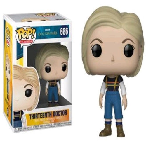 Doctor Who - Thirteenth Doctor without Coat Pop! Vinyl