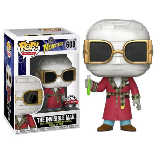 Universal Monsters - Invisible Man US Exclusive Pop! Vinyl