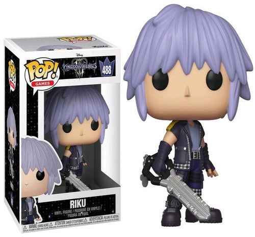 Kingdom Hearts III - Riku Pop! Vinyl