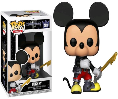 Kingdom Hearts III - Mickey Pop! Vinyl