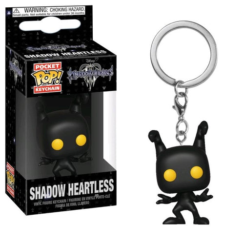 Kingdom Hearts III - Shadow Heartless Pocket Pop! Keychain