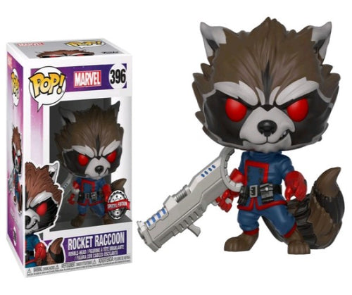 Guardians of the Galaxy - Rocket Raccoon Classic US Exclusive Pop! Viynl