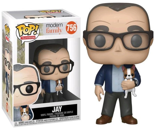 Modern Family - Jay with Dog Pop! Vinyl