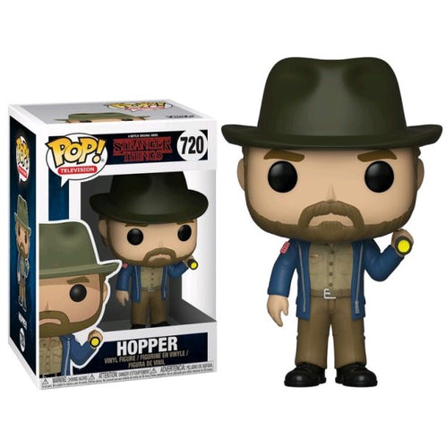 Stranger Things - Hopper with Flashlight Pop! Vinyl