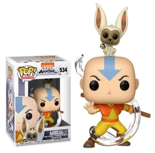 Avatar: The Last Airbender Anng with Momo Pop! Vinyl Figure