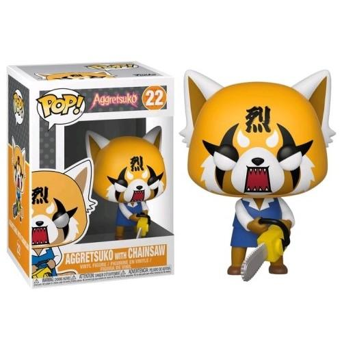 Aggretsuko - Aggretsuko with Chainsaw Pop! Vinyl