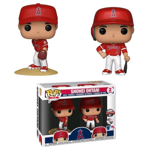 MLB - Shohei Ohtani (New Jersey) US Exclusive Pop! Vinyl 2-pack