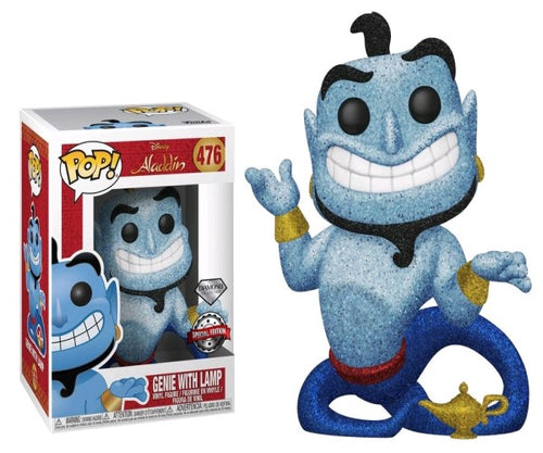 Aladdin - Genie with Lamp Diamond Glitter US Exclusive Pop! Vinyl