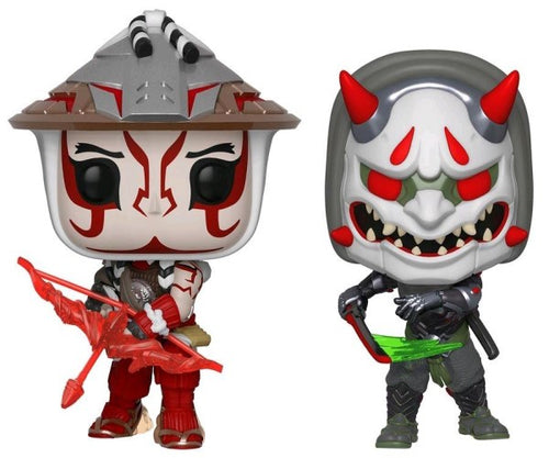 Overwatch - Hanzo & Genji E3 US Exclusive Pop! Vinyl 2-pack