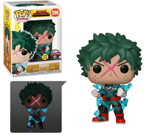 My Hero Academia - Deku Full Cowl Glow US Exclusive Pop! Vinyl