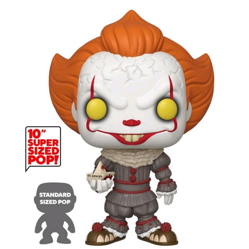 "It: Chapter 2 - Pennywise with Boat 10"" Pop! Vinyl"