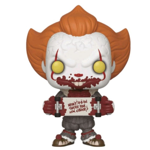 It: Chapter 2 - Pennywise with Skateboard US Exclusive Pop! Vinyl