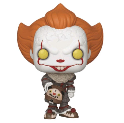 It: Chapter 2 - Pennywise with Beaver Hat US Exclusive Pop! Vinyl