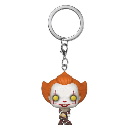 It: Chapter 2 - Pennywise with Beaver Hat Pocket Pop! Keychain