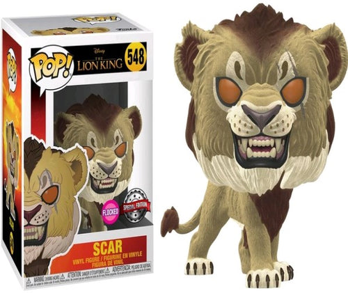 Lion King (2019) - Scar Flocked US Exclusive Pop! Vinyl