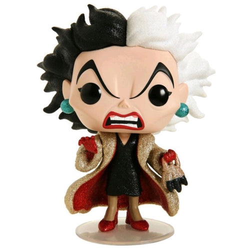 101 Dalmatians - Cruella Diamond Glitter US Exclusive Pop! Vinyl