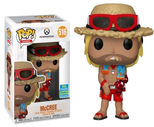 Overwatch - McCree Summer Skin SDCC 2019 US Exclusive Pop! Vinyl